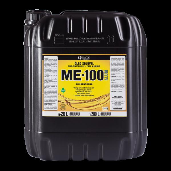 ME-100 ALUM Óleo Solúvel Semissintético Ecológico - 20 L - QUIMATIC TAPMATIC