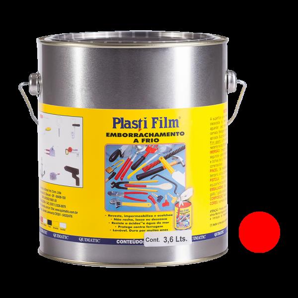 Plasti Film 3,6 L Vermelho - 3,6 L - QUIMATIC TAPMATIC