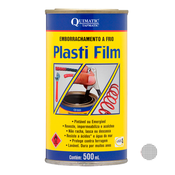 Plasti Film Incolor - 500 ml - QUIMATIC TAPMATIC
