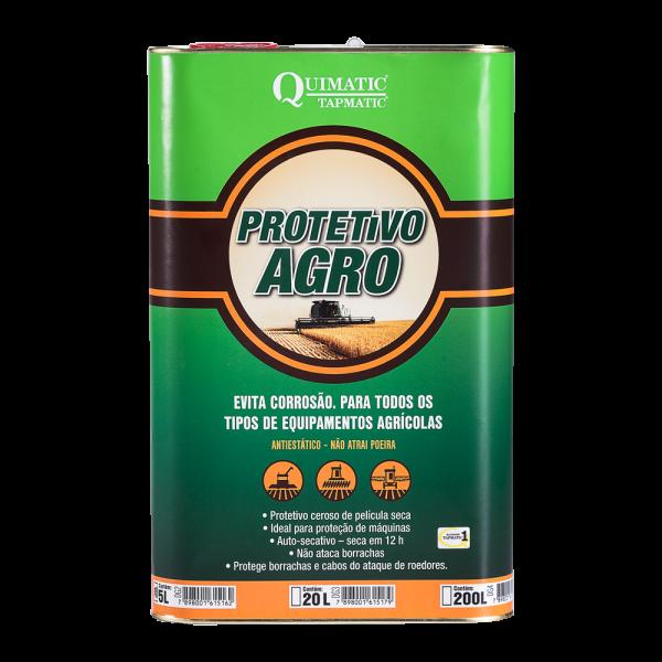Protetivo Agro - Inibidor de Corrosão para Implementos Agrícolas - 5 L - QUIMATIC TAPMATIC