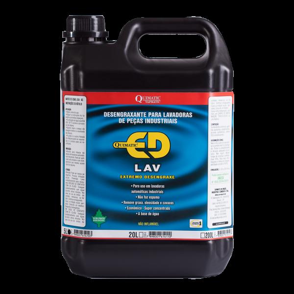 Desengraxante QUIMATIC ED LAV - 5 L - QUIMATIC TAPMATIC